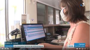 Biblio-Drive, l'application développée par PMB Services, mise à l'honneur sur France 3 Région Centre-Val de Loire