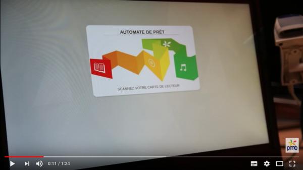 Nouveautés 4.2 - L' automate de prêt : Bibloto